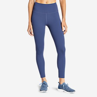 Women's Movement Lux High-Rise 7/8-Length Leggings in Blue