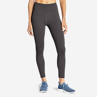 Women's Movement Lux High-Rise 7/8-Length Leggings in Gray