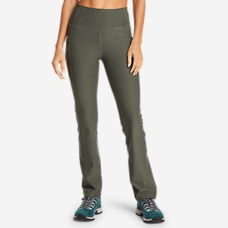 Women's Trail Adventure High-Rise Pants in Green