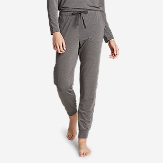 Women's Rest and Recovery Pants in Gray