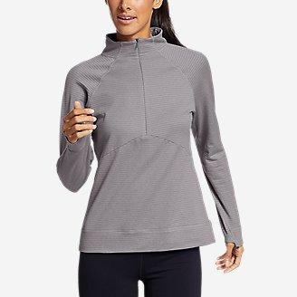 Women's On The Trail Raglan 1/4-Zip in Gray