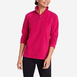 Women's Quest Fleece 1/4-Zip - Solid in Purple