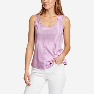 Women's Myriad Tank Top - Stripe in Purple