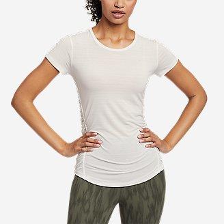 Women's Trail Light Short-Sleeve T-Shirt in White