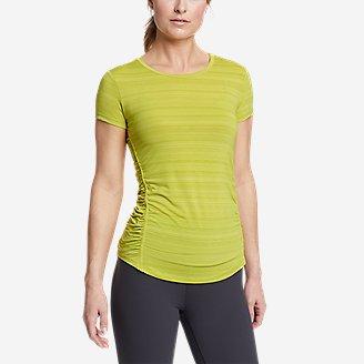 Women's Trail Light Short-Sleeve T-Shirt in Yellow