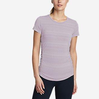 Women's Trail Light Short-Sleeve T-Shirt in Purple