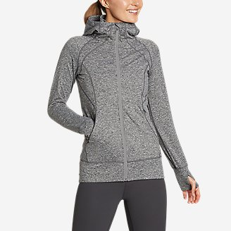 Women's Treign Full-Zip Jacket in Gray