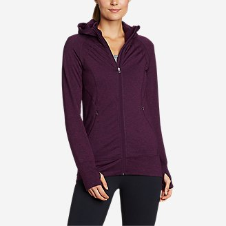 Women's Treign Full-Zip Jacket in Purple