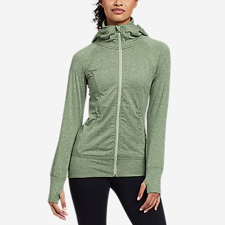 Women's Treign Full-Zip Jacket in Green