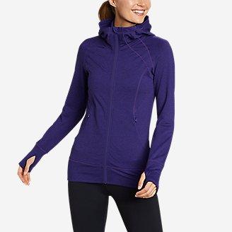 Women's Treign Full-Zip Jacket in Blue