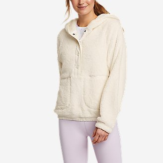 Women's Quest Plush Hoodie in White
