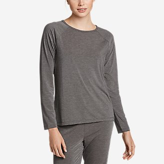 Women's Rest and Recovery Top in Gray