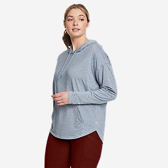 Women's Resolution Hoodie in Blue