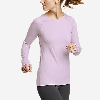 Women's Treign Crew Sweatshirt in Purple