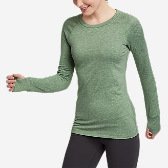 Women's Treign Crew Sweatshirt in Green