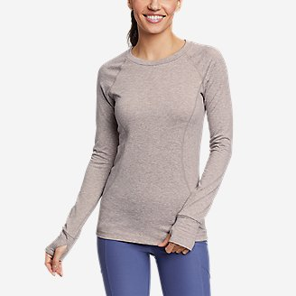 Women's Treign Crew Sweatshirt in Gray