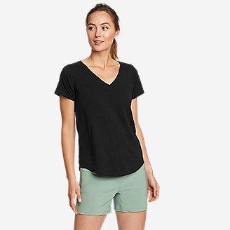 Women's Elevate V-Neck T-Shirt in Black