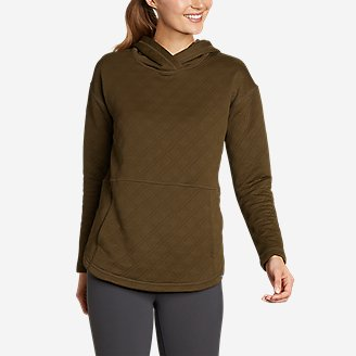 Women's Discovery Park Hoodie in Green