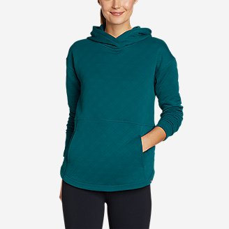 Women's Discovery Park Hoodie in Blue