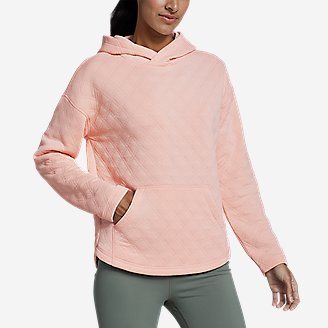 Women's Discovery Park Hoodie in Red