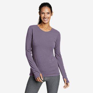Women's Tempo Light Long-Sleeve T-Shirt in Purple