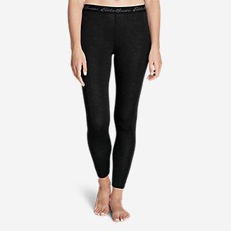 Women's Heavyweight FreeDry Merino Hybrid Baselayer Pants in Black