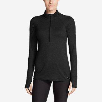 Women's Resolution 360 1/4-Zip in Black