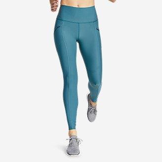 Women's Trail Tight Leggings - High Rise in Blue