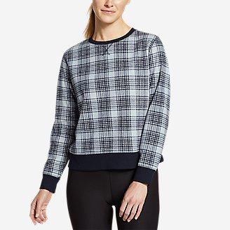 Women's Quest Fleece Sweatshirt - Print in Blue