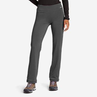 Women's Crossover Fleece Daylight Pants in Gray