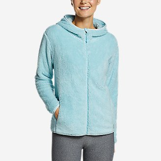 Women's Quest Plush Full-Zip Hoodie in Blue