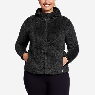 Women's Quest Plush Full-Zip Hoodie in Gray