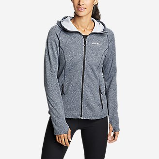 Women's High Route 2.0 Fleece Hoodie in Blue