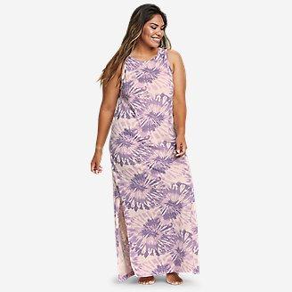 Women's Myriad Maxi Dress in Purple