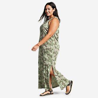 Women's Myriad Maxi Dress in Green