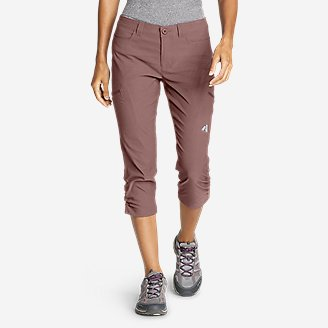 Women's Guide Pro Capris in Purple