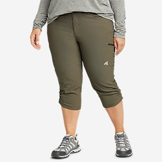 Women's Guide Pro Capris in Green