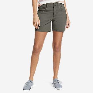 Women's Sightscape Horizon Shorts in Green