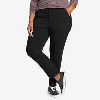 Women's Sightscape Horizon Slim Straight Ankle Pants in Black