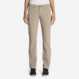 Women's Horizon Roll-Up Pants in White