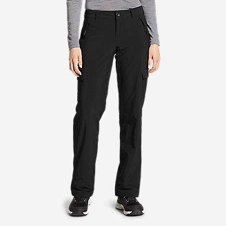 Women's Polar Fleece-Lined Pants in Black