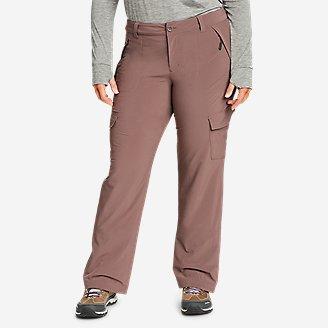 Women's Polar Fleece-Lined Pants in Purple