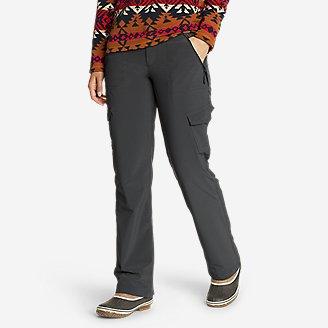 Women's Polar Fleece-Lined Pants in Gray