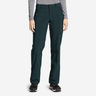 Women's Polar Fleece-Lined Pants in Green