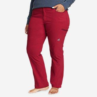 Women's Guide Pro Pants in Red
