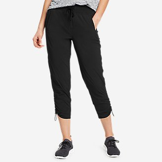 Women's Sightscape Horizon Pull-On Capris in Black