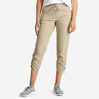 Women's Sightscape Horizon Pull-On Capris in Beige