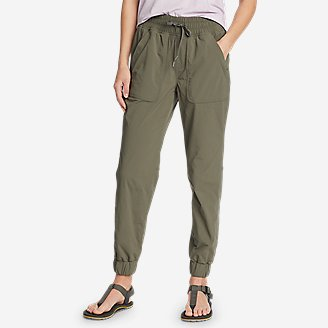 Women's Sightscape Horizon Pull-On Joggers in Green