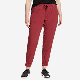 Women's Sightscape Horizon Pull-On Joggers in Red