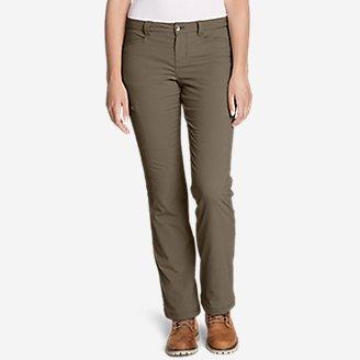Women's Horizon Stretch Lined Pants in Beige